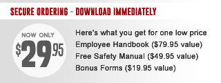 Employee Handbook Templates By State - Texas employee handbook template